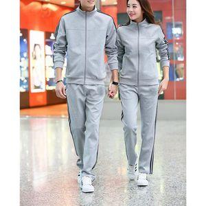 Ensemble de vêtements Homme Survêtement jogging couple ensemble pull et