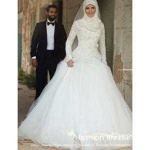 robe de mariée musulmane voilée discount