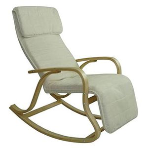 Chaise alex ii en alcantara with rocking chair pour allaiter for Chaise bercante pour allaiter