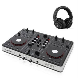 table de mixage dj pour pc achat vente table de mixage dj pour pc pas cher cdiscount. Black Bedroom Furniture Sets. Home Design Ideas