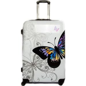 VALISE - BAGAGE TROLLEY ADC Valise Mixte Trolley Butterfly - Rigid