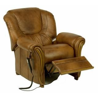 Fauteuil relax cuir lectrique miami achat vente fauteuil cuir bois pol - Fauteuil cuir relax electrique ...
