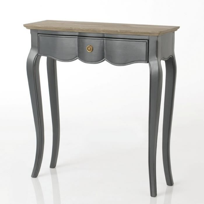 Petite console grise maddy - Amadeus Gris