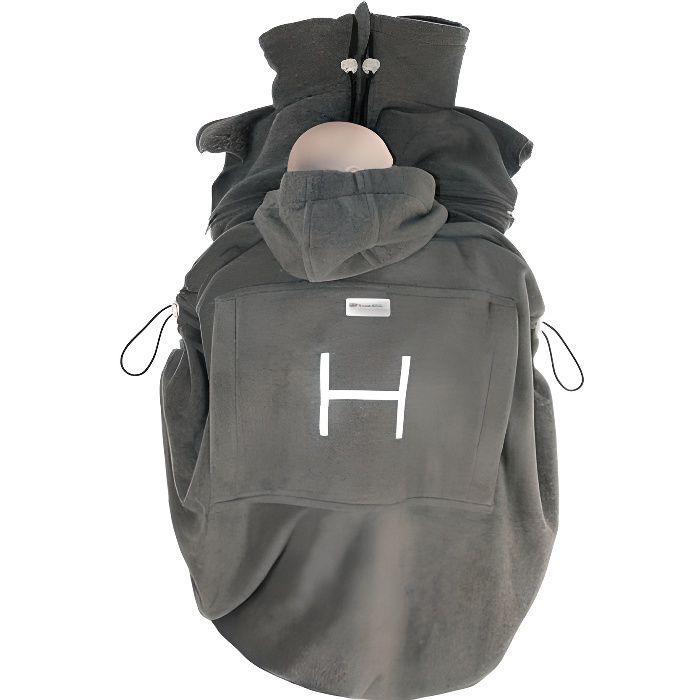 Polaire special portage Hoppediz Anthracite