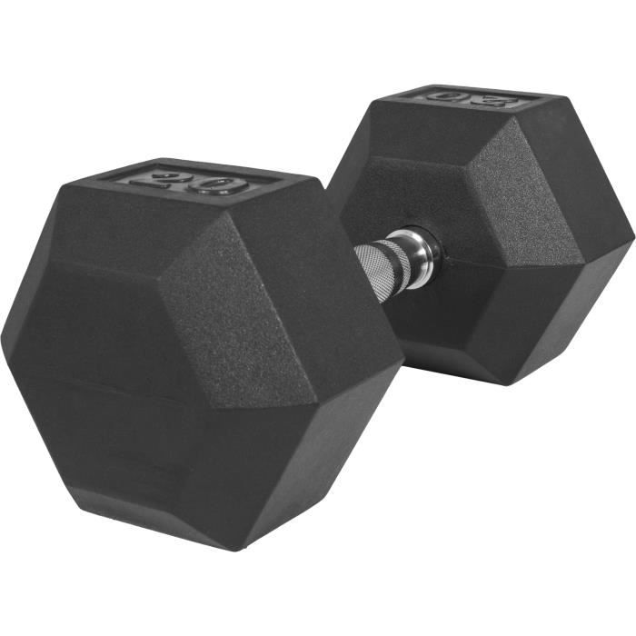 Haltère hexagonal de 20 KG