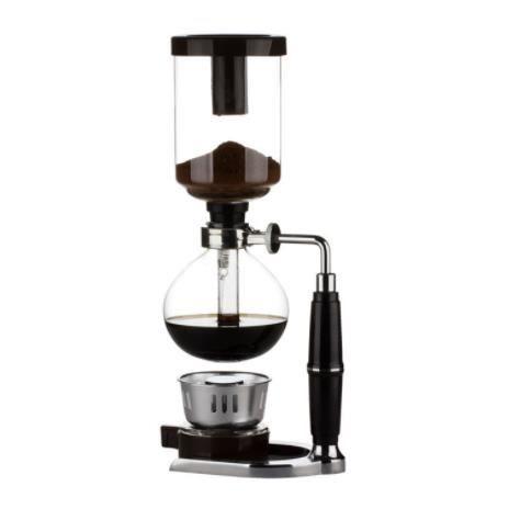 Style japonais Siphon cafetière thé Siphon Pot vide cafetière verre Type Machine à café filtre Kahve Makinas 3cup