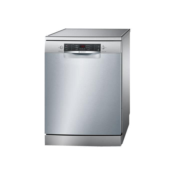 Bosch Serie - 4 SilencePlus SMS46GI01E Lave-vaisselle pose libre largeur : 60 cm profondeur : 60 cm hauteur : 84.5 cm inox