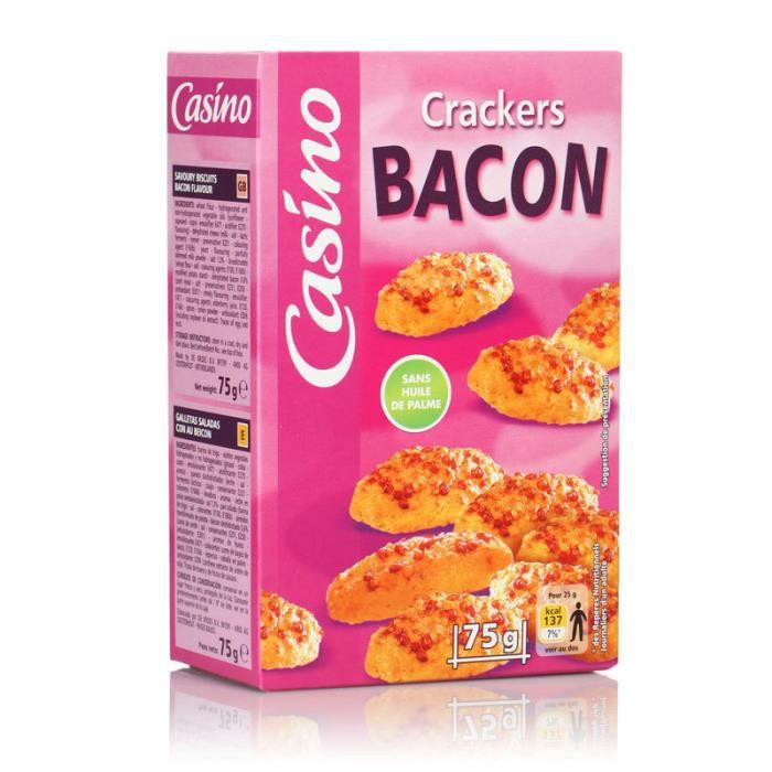 CASINO Crackers Bacon 75g