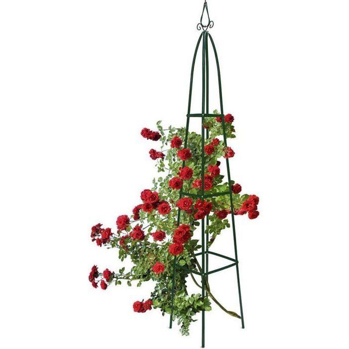 Gloriette Colonne Obélisque Tuteur de Jardin plante rosier jardin GUIZMAX