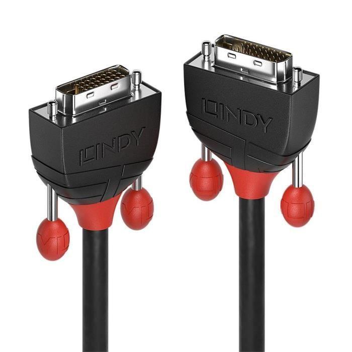 Lindy Câble Dvi D Dual Link Black Line 2m