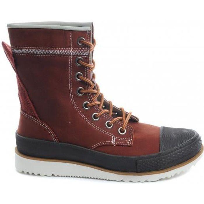 CONVERSE Boots Montantes Chuck Taylor Major Mills XHI Cuir Marron - Mixte