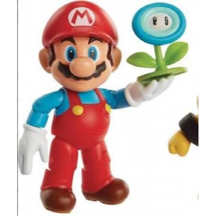 Nintendo monde de glace mario avec figure d'action de boule de glace, 4 - H8V59