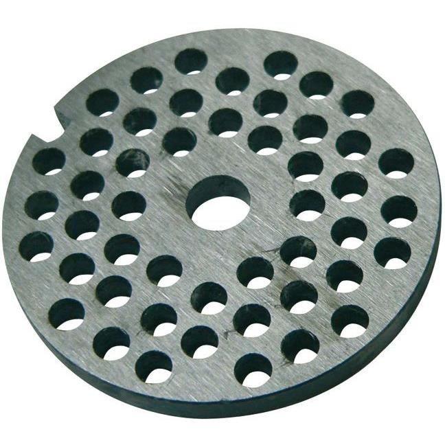 REBER Grille pour Hachoir manuel - N°10 et N°12 - Diamètre 8 mm