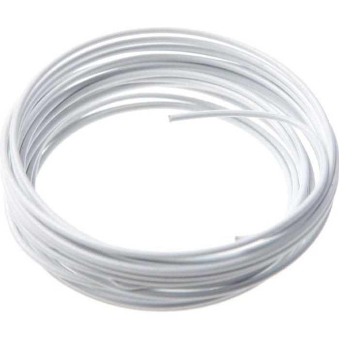 SANTEX Petit fil métallique blanc