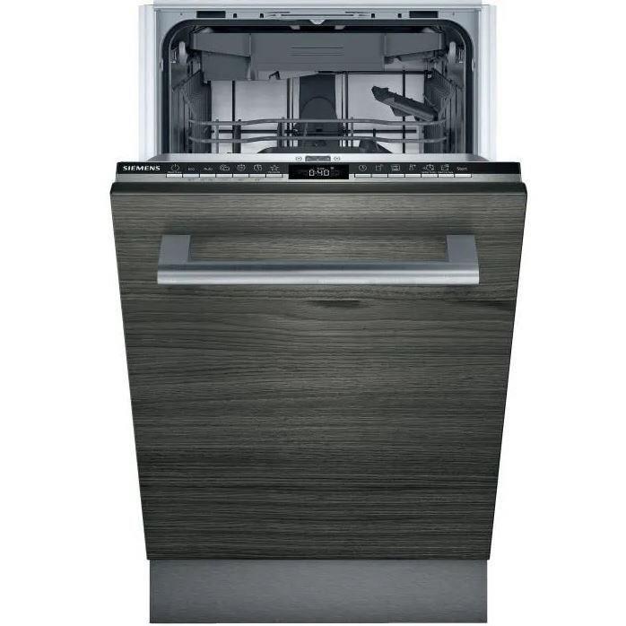 siemens - lave-vaisselle 45cm 10c 45db a+ tout intégrable - sr63hx65me