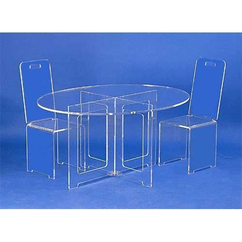 table ovale plexiglas achat vente meuble informatique. Black Bedroom Furniture Sets. Home Design Ideas