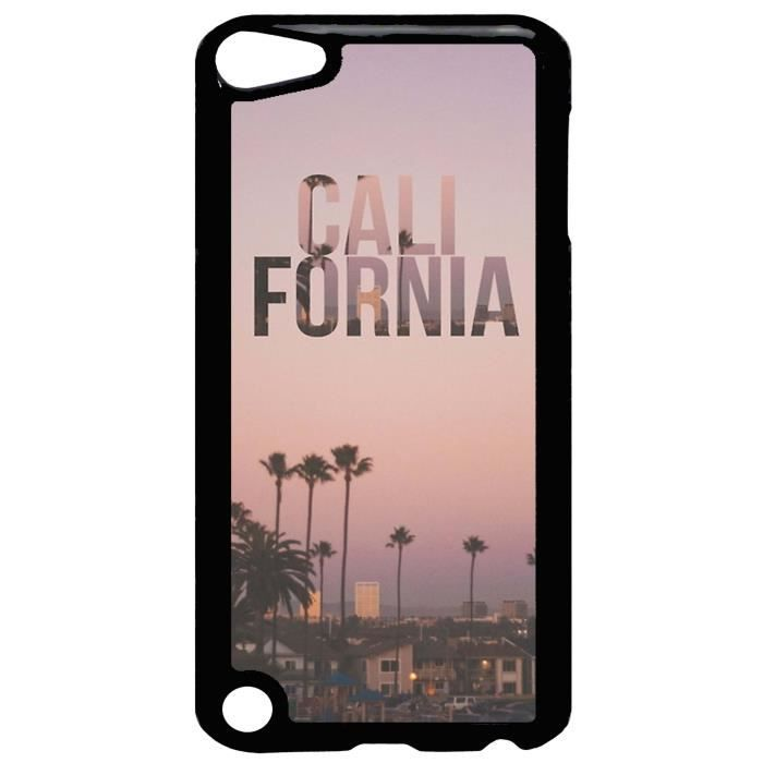 coque ipod touch 5 california beach palmier coucher de. Black Bedroom Furniture Sets. Home Design Ideas