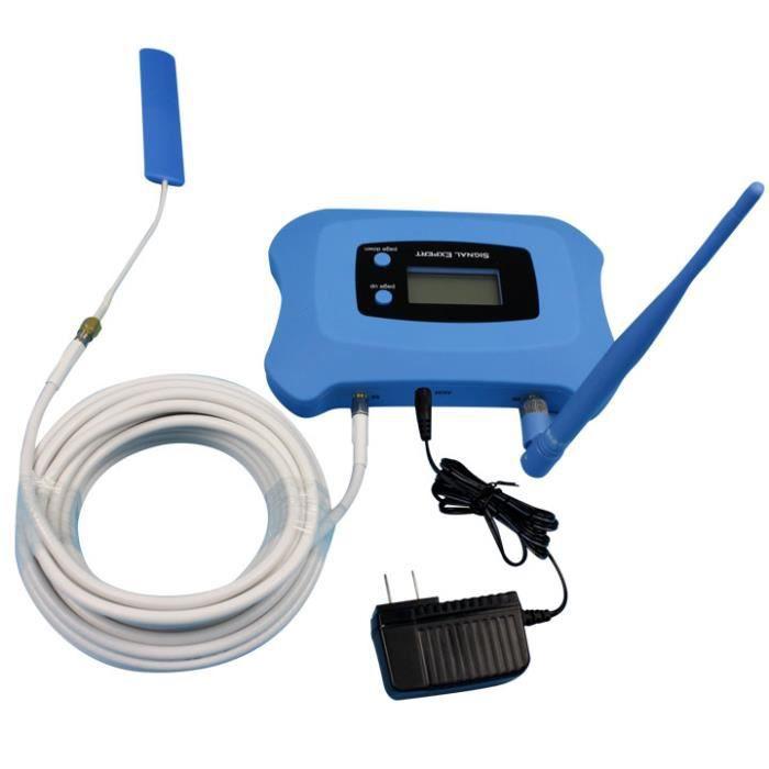 AMPLIFICATEUR DE SIGNAL DCS 1800 Mobile Signal Booster 2G 4G Répéteur de S