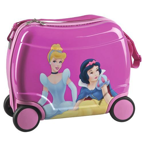 petite valise roulettes disney princesse fuchsia achat. Black Bedroom Furniture Sets. Home Design Ideas
