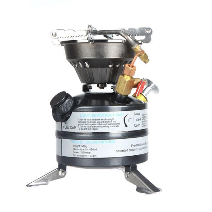 Bidon /à essence tr/épied Camping gaz Tank support ext/érieur pliable support de pot
