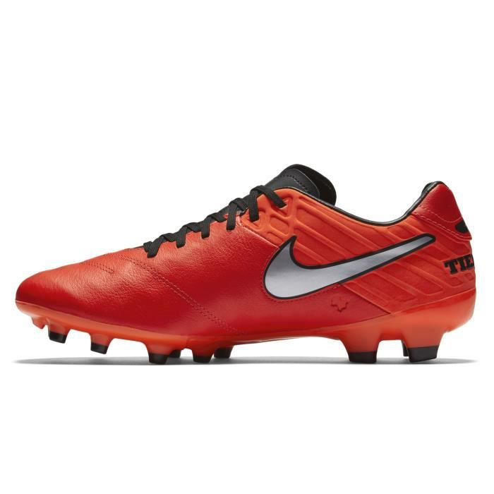 buy online bf3ec df30c Chaussures football Nike Tiempo Mystic V FG Rouge