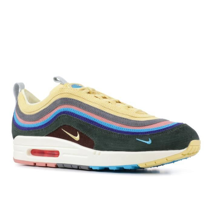 clearance sale 100% genuine genuine shoes NIKE AIR MAX 1/97 VF SW 2018 SEAN WOTHERSPOON Gris - Achat ...