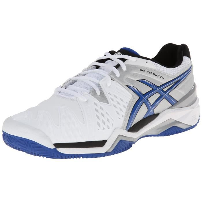 new concept dccb4 ac56c CHAUSSURES DE TENNIS Asics Men s Gel-resolution 6 Clay Court Tennis Sho