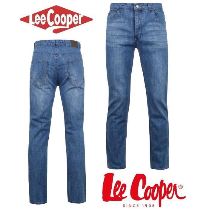 design rafinat angro cumpărare vânzare Jean Homme Lee Cooper Light Wash du 40 au 50 Light Wash - Achat ...