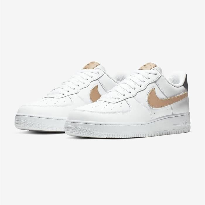 air force 1 chaussures baskets airforce one pour homme femme blanc