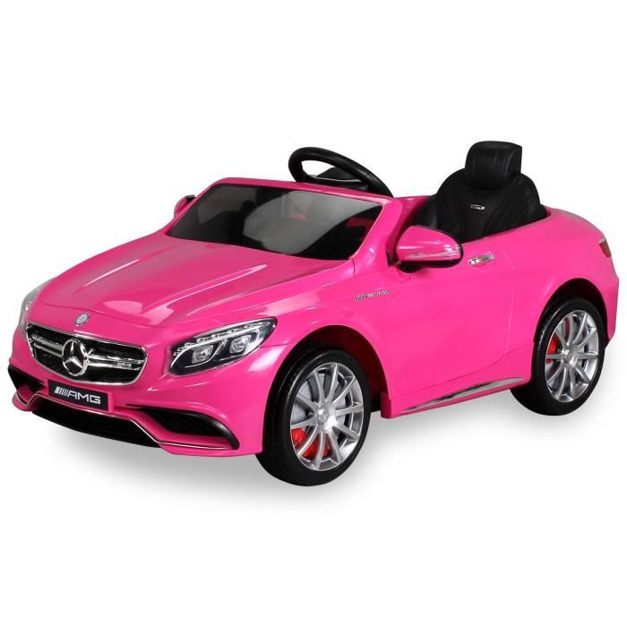 mini voiture lectrique pour enfants mercedes s63 amg. Black Bedroom Furniture Sets. Home Design Ideas