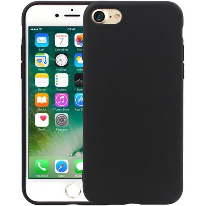pour apple iphone 7 4 7 coque tpu silicone mat s