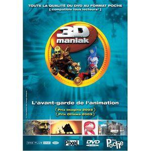 DVD DESSIN ANIMÉ DVD 3d maniak, vol. 1