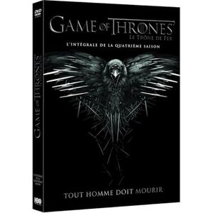 Dvd Game Of Thrones Saison 4