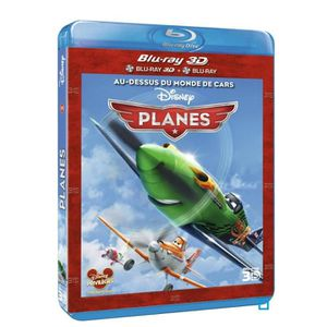 BLU-RAY DESSIN ANIMÉ Blu-ray 3D Planes (DVD + Blu-ray + Blu-ray 3D)