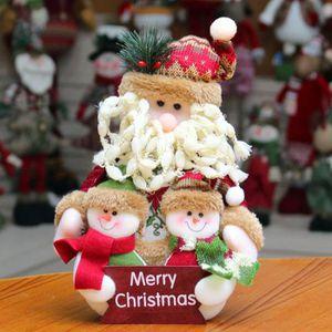 PERSONNAGES ET ANIMAUX Personnage de Noël Décoration Table De Noël Person