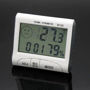 THERMOMÈTRE - BAROMÈTRE DC102 afficheur LCD Thermomètre température d'humi