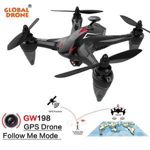 DRONE Drone Global Drone GW198 GPS 720P sans brosse dron