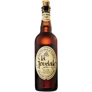 BIÈRE Bière blonde à l'ancienne 750 ml LA GOUDALE