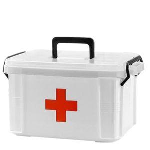 Fannty Trousse de secours multi-couches pour m/énage Bo/îte /à m/édicaments multifonctionnelle Trousse de premiers secours Bo/îtes de rangement et bacs