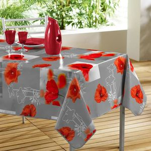toile ciree ovale moderne