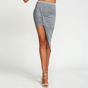 JUPE jupe crayon femmes avec taille haute mode slim rob