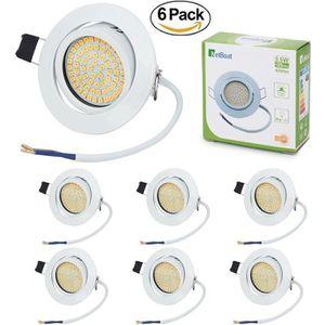 SPOTS - LIGNE DE SPOTS NETBOAT® 6x spots LED encastrables Orientable Rond