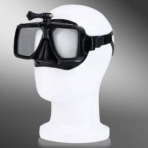 MASQUE DE PLONGÉE Masque de plongée pour GoPro avec verre trempé - n