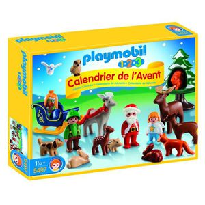 UNIVERS MINIATURE Playmobil 1.2.3 - 5497 - Calendrier De L'avent - 1