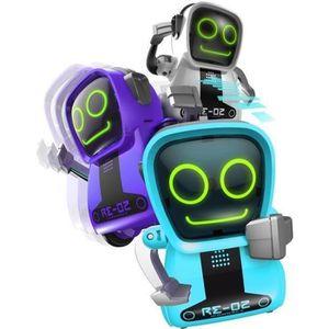 ROBOT - ANIMAL ANIMÉ SILVERLIT - Pokibot - Mini Robot interactif de Poc