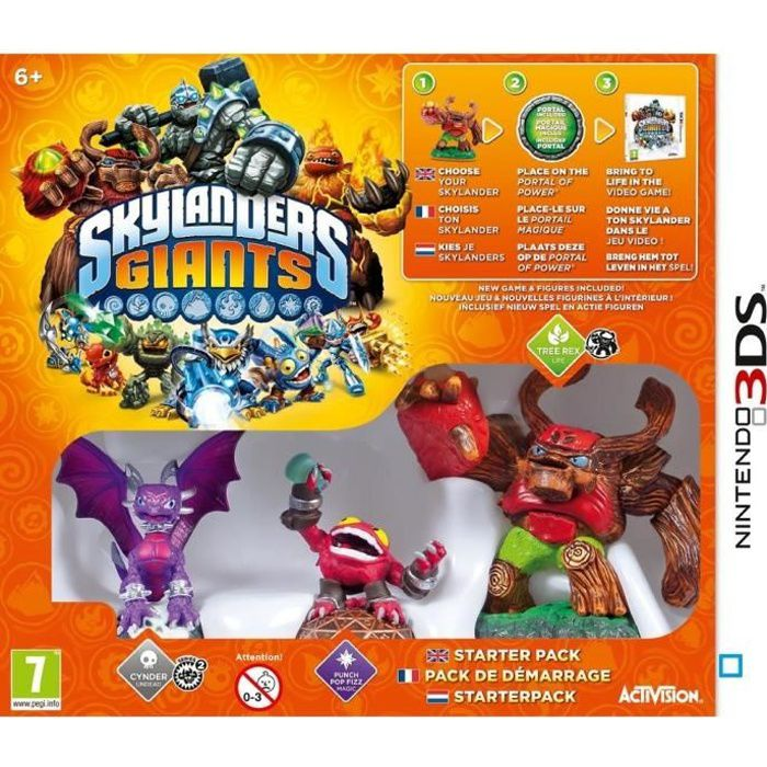 JEU 3DS Starter Pack Skylanders Giants 3DS