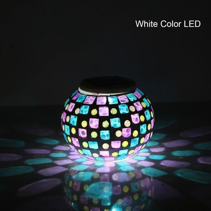 Lampe solaire décorative