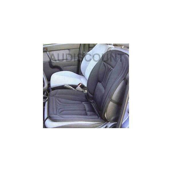 couvre siège auto chauffant 12v