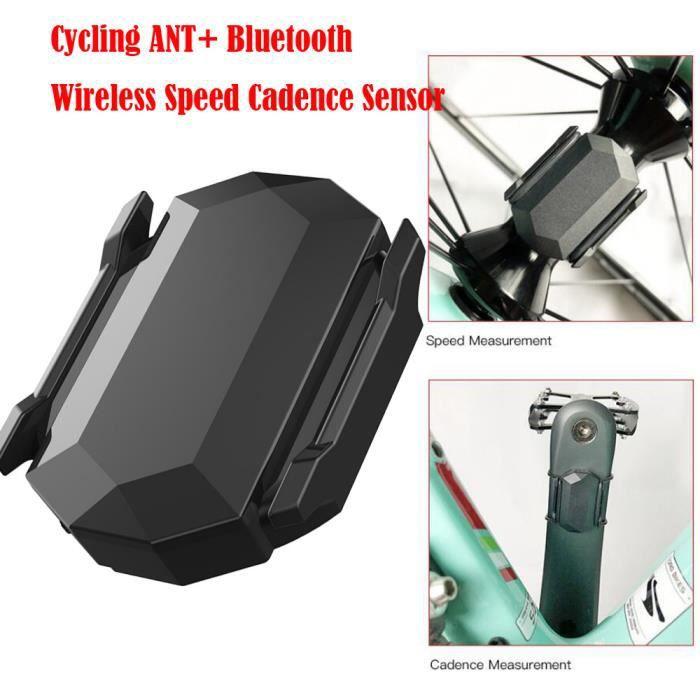 Capteur De Cadence Vitesse Sans Fil Bluetooth Ant + Pour Vélo Garmin Bryton Gps LLZ80912723
