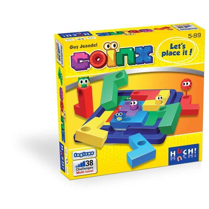 HUCH! Jeu de logique Multicolore - 880529